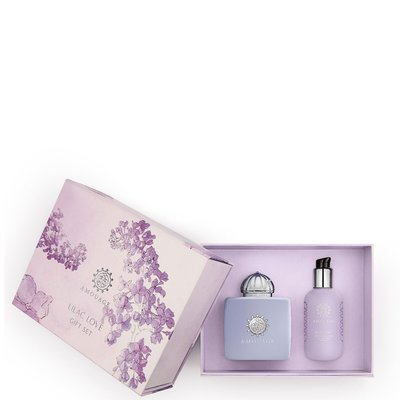 Lilac Love giftset Eau de Parfum 100 ml and 100 ml body lotion *