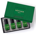 Vetiver Vert cologne set for the Traveller 4 x 15 ml