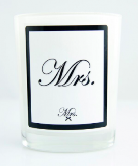 Mrs scented candle 270 gr